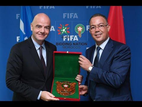 """حاول منع وصول المغرب إلى مرحلة التصويت.. """"بي بي سي"""" تفضح مؤامرة رئيس الفيفا ضد المغرب"""