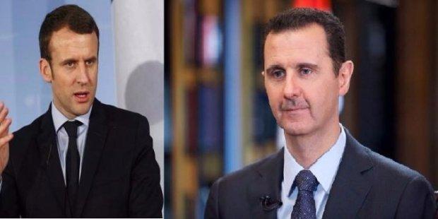 """بعد الضربة العسكرية.. ماكرون يتجه نحو تجريد الأسد من """"جوقة الشرف"""""""
