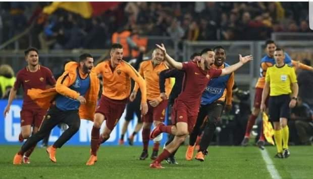 مباراة التكفير عن الأخطاء.. روما يحقق الريمونتادا ويتأهل على حساب برشلونة