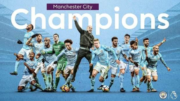 للمرة الخامسة في تاريخه.. مانشيستر سيتي بطل للدوري الإنجليزي الممتاز