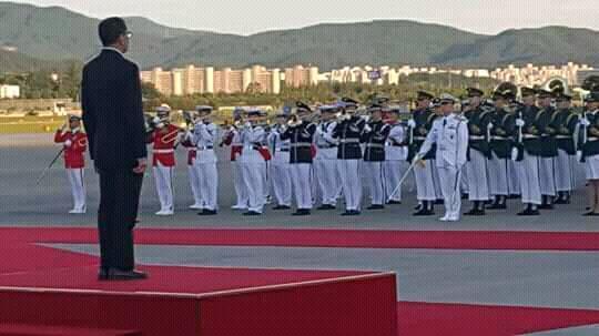 """بالصور.. العثماني """"يستقبل نفسه"""" في كوريا الجنوبية!!"""