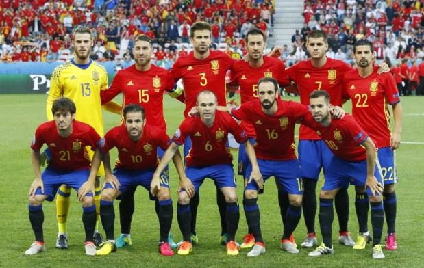 مونديال روسيا.. لائحة المنتخب الإسباني يوم 21 ماي