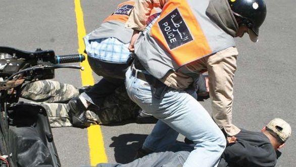 هز سيف على البوليس.. شرطي يطلق الرصاص لتوقيف مقرقب في فاس