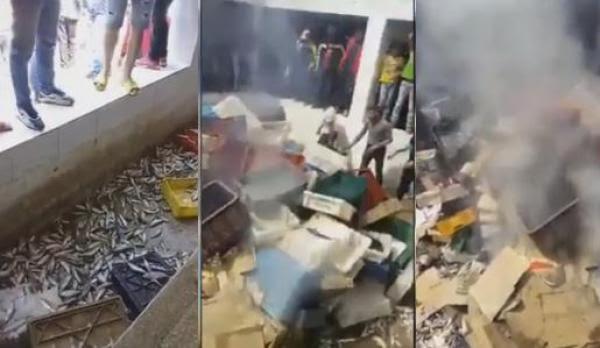 بعد وزان.. مقاطعة الحوت ولّات بسالة وفوضى فتطوان! (فيديو)