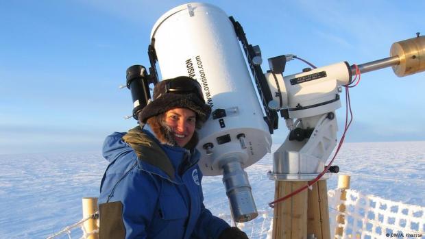 مريم شديد.. أنثى مغربية في القطب الجنوبي !