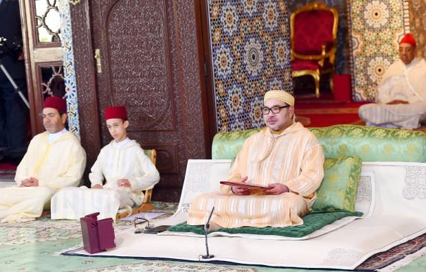 بموضوع حقوق النفس في الإسلام.. الملك يفتتح الدروس الحسنية