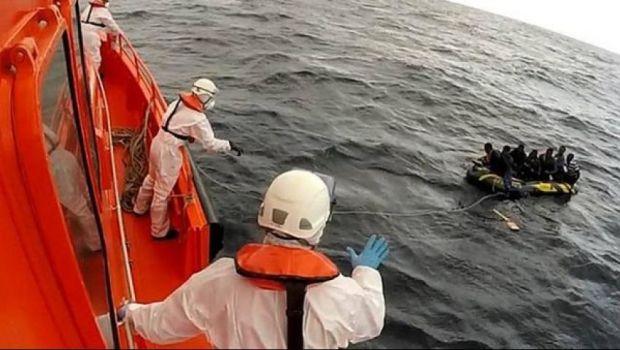 انطلقوا من طنجة.. البحرية الإسبانية تسعف حراكة أفارقة