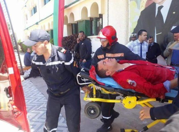 بعد محاولته حرق نفسه.. العمالة تبرر طرد مستشار من بلدية الجديدة