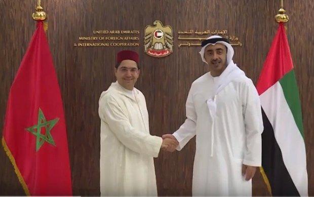 نوهت بالملك.. الإمارات تندد بالأنشطة الإرهابية لحزب الله والبوليساريو ضد المغرب