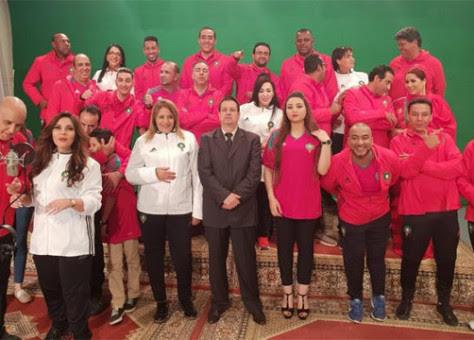 """""""كلنا أبطال"""".. ملحمة لدعم المنتخب المغربي ودعم ملف ترشيح (فيديو)"""