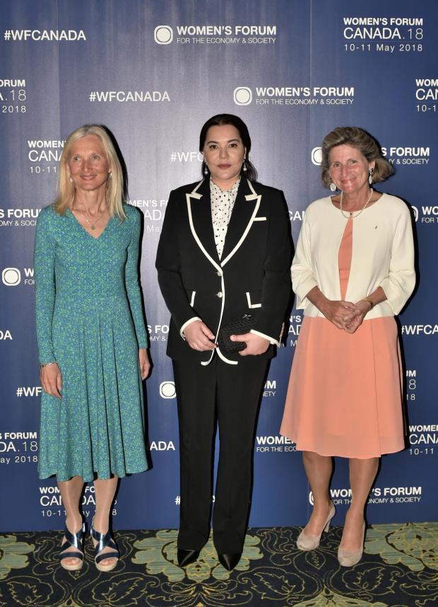 بالصور من كندا.. الأميرة للا حسناء تشارك في أشغال منتدى النساء