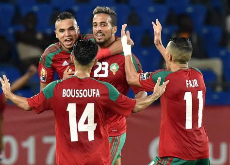 """ما رضاوش.. صحيفة """"ماركا"""" الإسبانية تتهم لاعبي المنتخب المغربي بالعنف!!"""