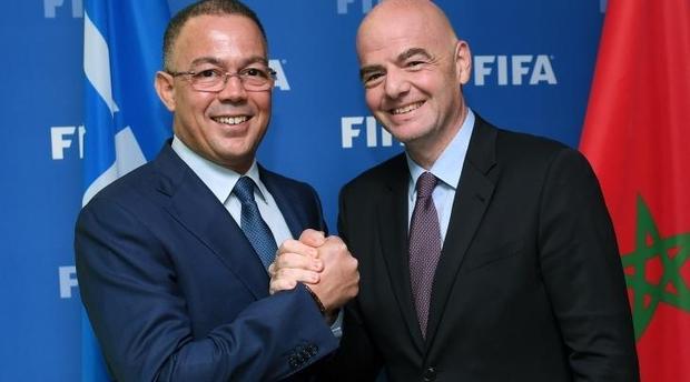 ما بقاتش غير هضرة.. الفيفا يصادق على مرور المغرب إلى مرحلة التصويت على تنظيم كأس العالم 2026