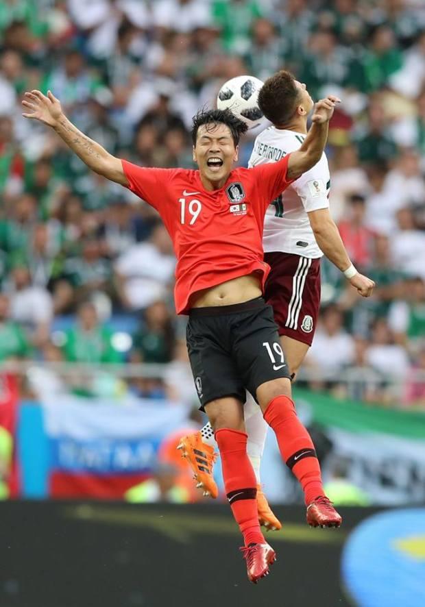 """بعد تعطيله للمَاكينات الألمانية.. المكسيك يُسقط """"مُحاربي التّايجوك"""" (صور)"""