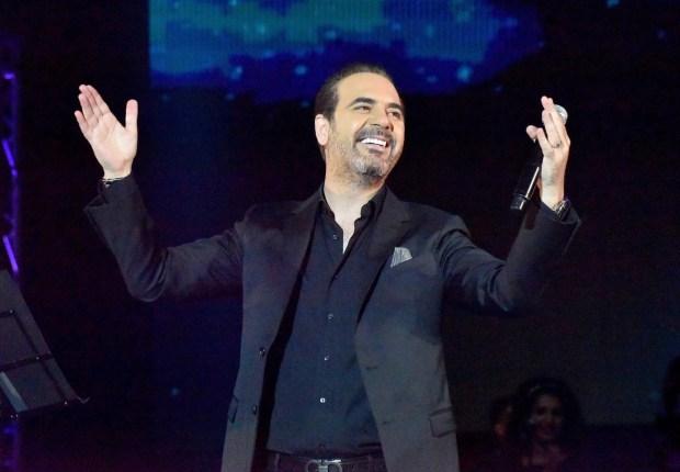 على مسرح النهضة.. وائل جسار يغني في موازين (صور)
