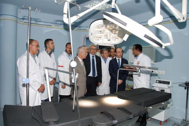 بشرى لسكان دمنات.. مستشفى جديد للقرب (صور)