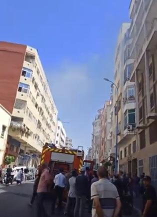 حريق في كازا.. اختناقات وقفز بسبب كوكوط!