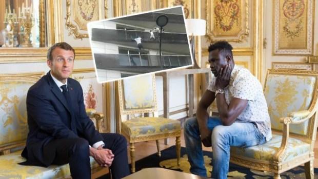 وحدين بغاو يقلدوه ودارو الضحك فراسهم.. مامادو يلهم المهاجرين الأفارقة!