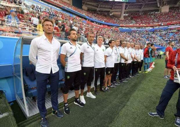 دعاهم إلى التركيز على البرتغال وإسبانيا.. رونار يتدخل لتخليص لاعبيه من حالة الإحباط