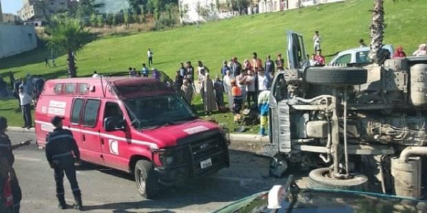 طنجة.. شاحنة لنقل الأزبال تقتل شخصين