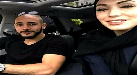زوجة نور الدين امرابط.. ريفية ومصممة أزياء كتحشم من الكاميرا!! (صور)