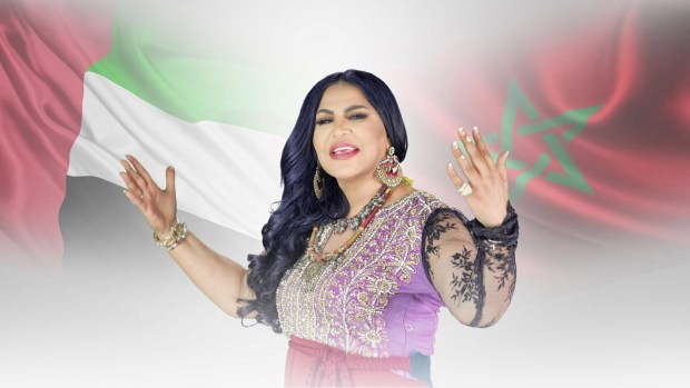 بالصور.. الإماراتية أحلام توجه رسالة إلى الملك