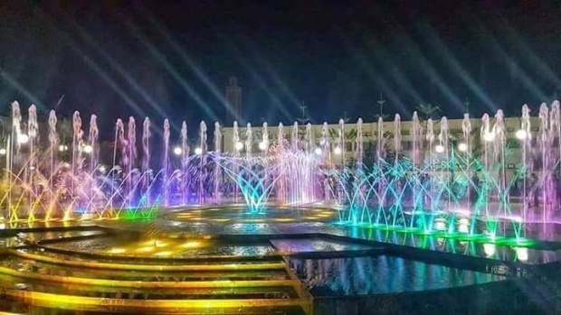 بالصور من بركان.. افتتاح ساحة محمد السادس الجديدة
