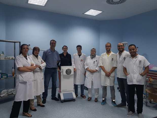 لأول مرة في طنجة.. علاج يخفف آلام مرضى السرطان (صور)