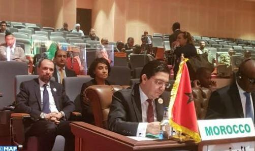 قبيل انطلاق القمة الإفريقية.. بوريطة يؤكد دعم المغرب لجنوب السودان