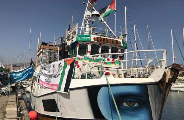 """كانت متجهة إلى غزة.. البحرية الإسرائيلية تسيطر على """"سفينة العودة"""""""