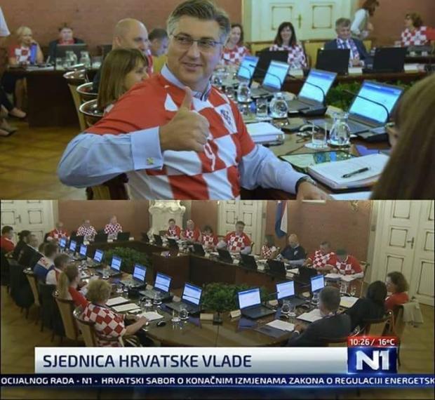 كرواتيا.. حكومة المنتخب