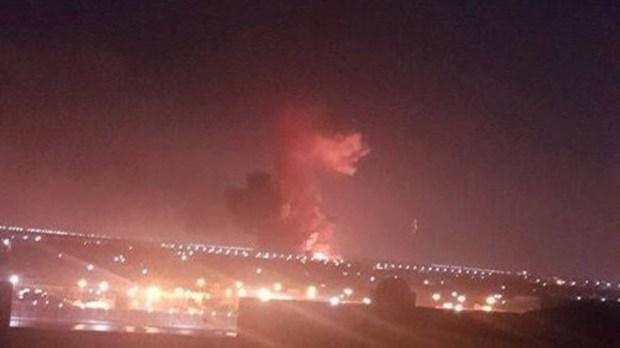 في محيط المطار.. انفجار يهز العاصمة المصرية القاهرة (فيديو)