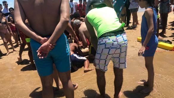 غرق رجل وابنته.. مأساة في شاطئ قرب طنجة