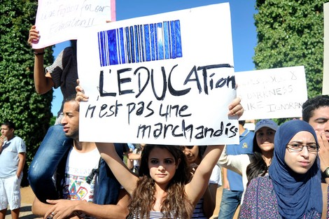 التعليم ماشي سلعة.. تلاميذ الباك ينتفضون ضد عتبات ولوج المعاهد العليا