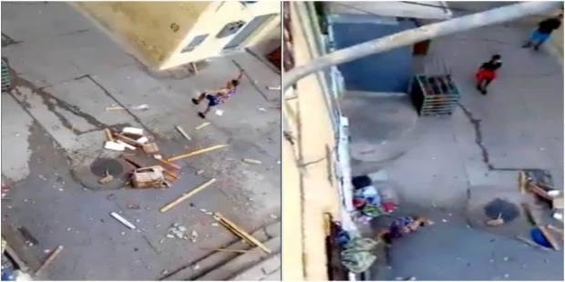 بالفيديو من فاس.. البوليس يحقق في هجوم عصابة على منزل
