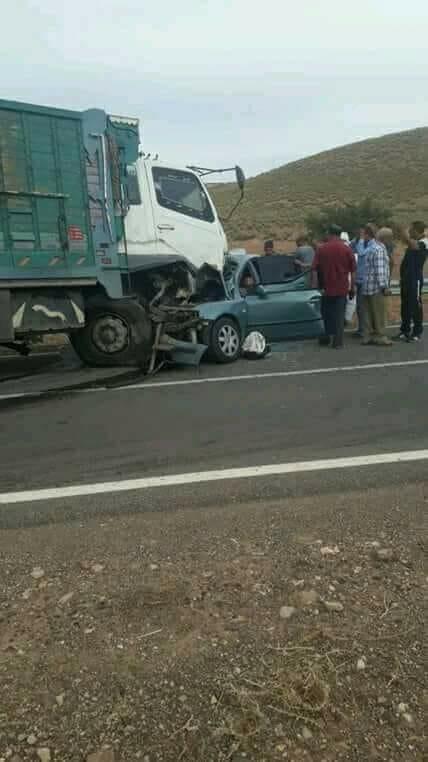 هاد الشي بزاف.. 4 قتلى من أسرة واحدة في حادث قرب وجدة
