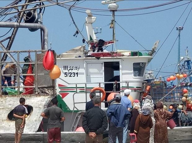 كسيدة وسط البحر.. قتيل وجرحى بعد اصطدام مركبين للصيد في الصويرة