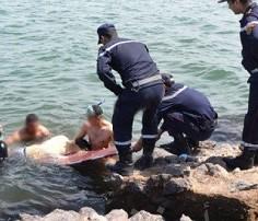 هدد المصطافين والشرطة في الشاطئ.. السلاح للسيطرة على مقرقب في الصويرة