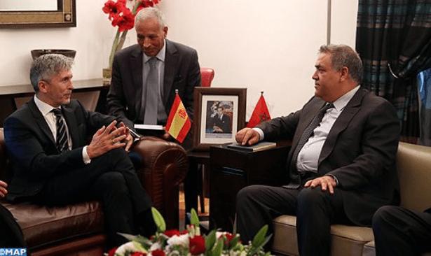 بعد ماتش السوبر.. لفتيت يلتقي وزير الداخلية الإسباني في طنجة