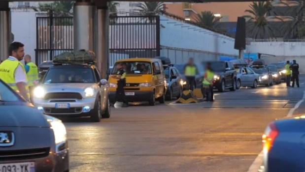 باش ما يسلتوش الحراكة.. تعزيزات أمنية في ميناء سبتة (فيديو)