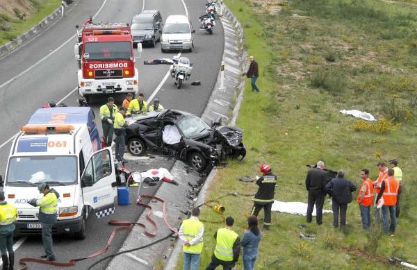 إسبانيا.. وفاة مغربيين في حادثة سير ونجاة طِفليهما بأعجوبة