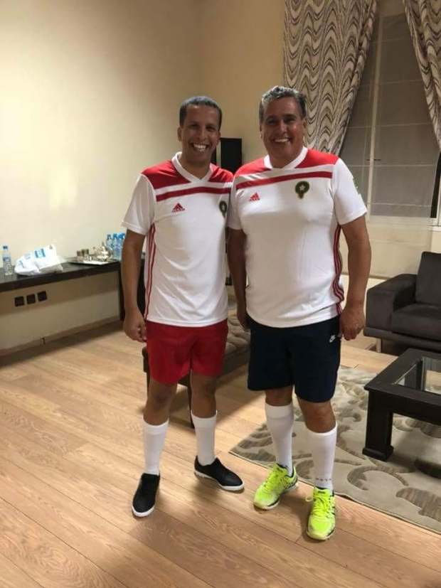 بالصور من مراكش.. أخنوش مقصّر كرة!