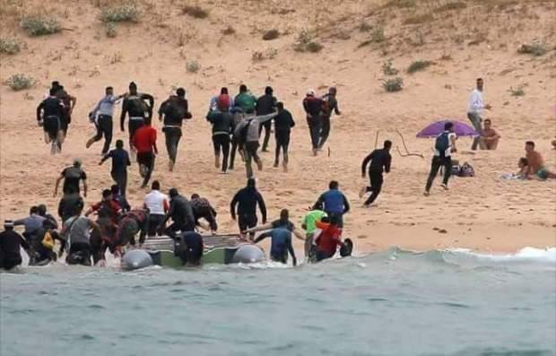 كثّرو من الغميق والكذوب.. صور وقصص كاذبة عن الحراكة المغاربة (صور)