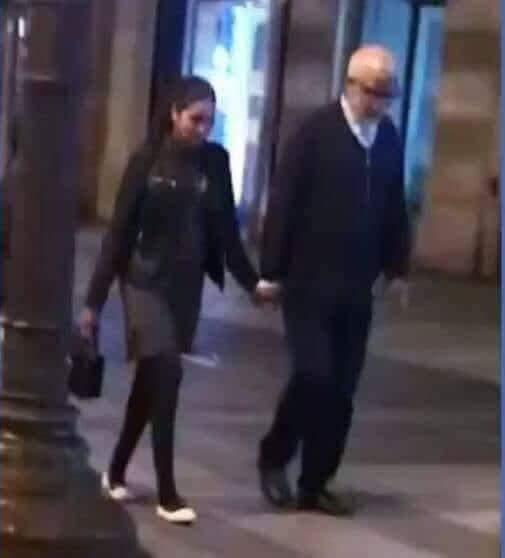 دارو الخطوبة وبدا مسطرة الطلاق.. الوزير يتيم مع خطيبته في باريس (صور)