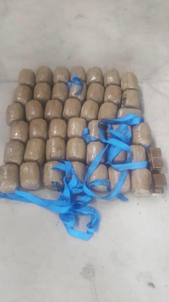 بالصور من ميناء طنجة.. إحباط تهريب مخدرات إلى فرنسا