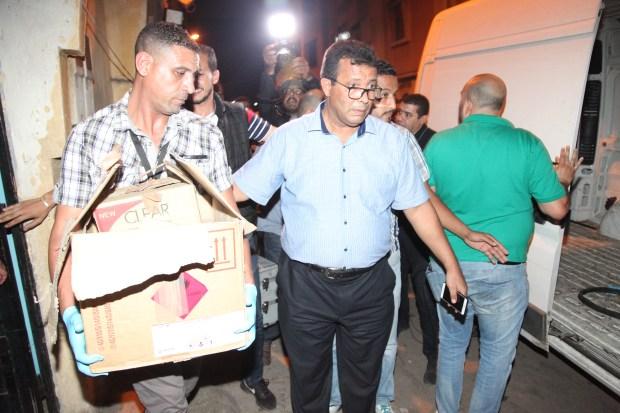 بالصور والفيديو من كازا.. استنفار أمني واعتقالات وحجز علب تحتوي على مواد كيماوية