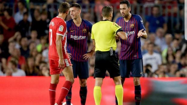 """حيث ما ربحوش.. نجوم برشلونة يشككون في تقنية """"الفار"""""""