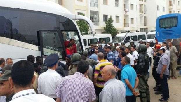احتجاج وتأييد وتعاطف.. السلطات في طنجة محزمة مع المهاجرين