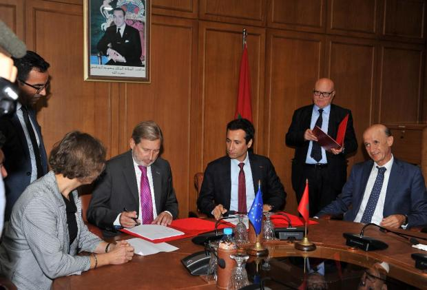 الفلوس كاينة.. أوروبا تمنح المغرب أزيد من مليار درهم (صور)