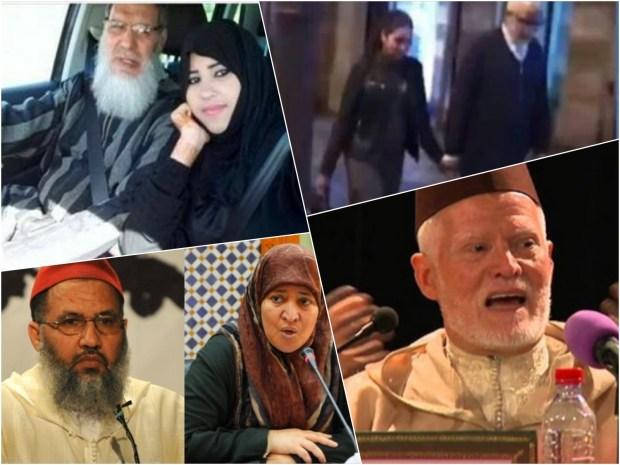 """يتيم والمدلكة/ الكوبل الحكومي/ كوبل القمقوم/ الفيزازي وزعبول.. قصص شخصيات إسلامية """"فضحها"""" الحب!"""